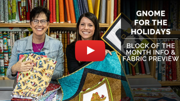 Gnome for the Holidays BOM Info & Fabric Sneak Peek!