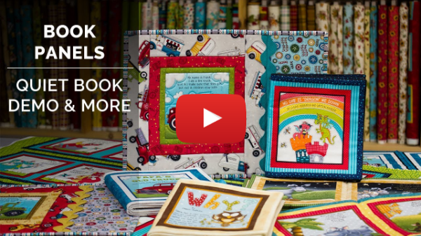 Book Panels : Quiet Book Demo & More