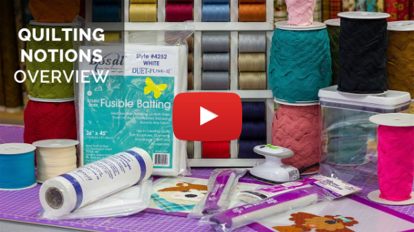 Leanne's Go-To Quilting Notions