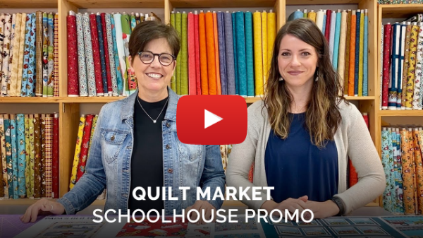 Virtual Quilt Market Shoolhouse Promo